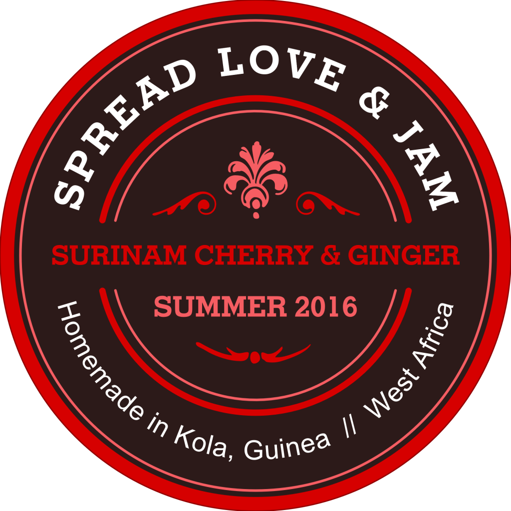 Surinam Cherry & Ginger Jam